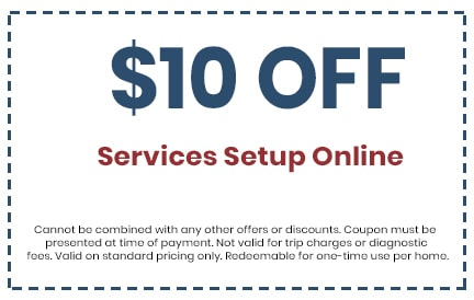 Discount on Services Setup Online