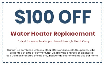 Discount on Water Heater Replacement